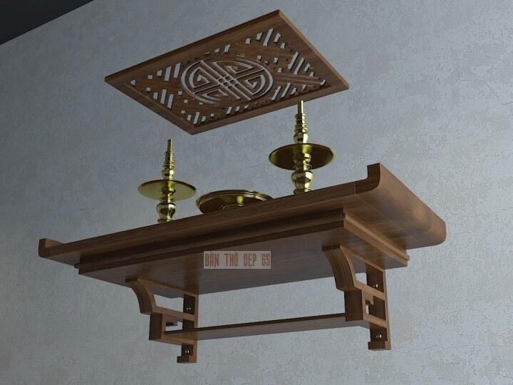 Bàn thờ treo tường TC81-01-4