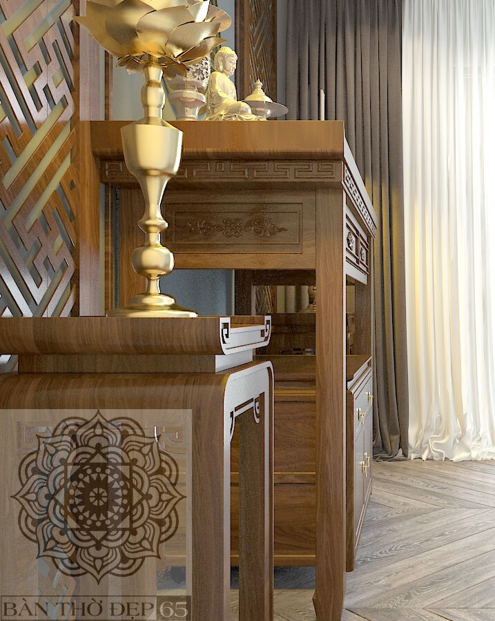 Bàn thờ đứng BCS153-02